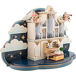 Organ for Hubrig Angel Orchestra without Music Box - 36x13x21 cm / 14x5x8 inch