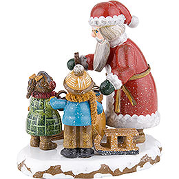 Winter Children Thank You Dear Santa Claus - 9 cm / 3,5 inch