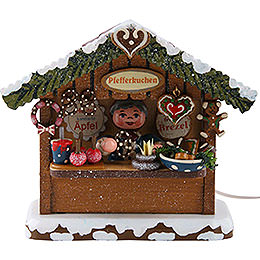 Winter Children Market Booth Gingerbread House - 10 cm / 4 inch