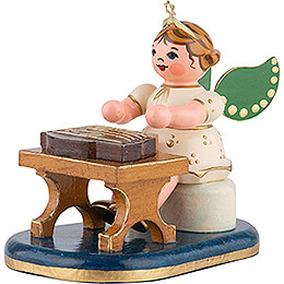 Angel with Zither - 6,5 cm / 2,5 inch