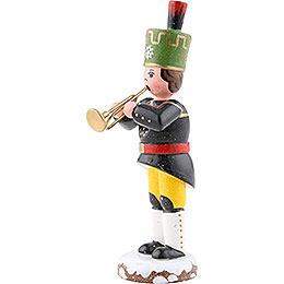 Winterkinder Bergmann Trompete - 9 cm