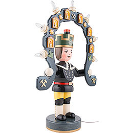 Miner with Light Arch - 53 cm / 21 inch