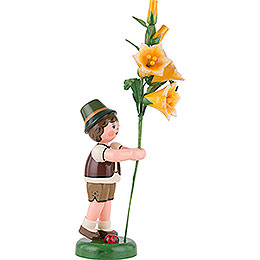 Flower Child Boy with Lily - 24 cm / 9,5 inch