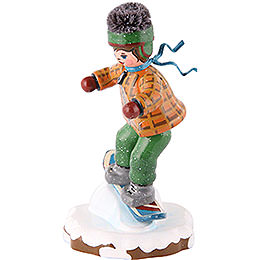 Winter Children Snowboarder- 8 cm / 3 inch