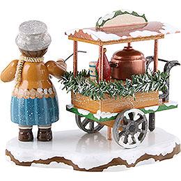 Winter Children Glogg Cart - 8 cm / 3.1 inch