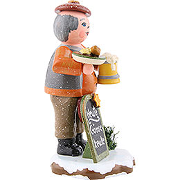 Winter Children Head Waiter - 8 cm / 3.1 inch