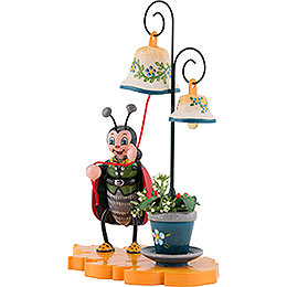 Ladybug with Chimes - 8 cm / 3 inch