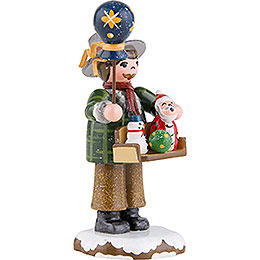 Winter Children Toy Salesman - 8 cm / 3 inch