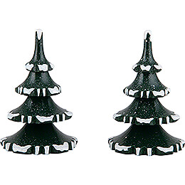 Winter Children Trees - Medium - Set of 2 - 8 cm / 3.1 inch