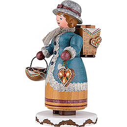 Winter Children Gingerbread Vendor - 20 cm / 7.9 inch