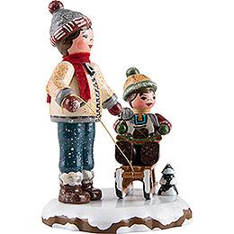 Winter Children Best Friends - 8 cm / 3.1 inch