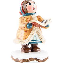 Winter Children Carol Singer Johanna - 5 cm / 2 inch