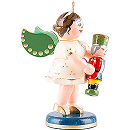 Angel with Nutcracker - 6,5 cm / 2.6 inch