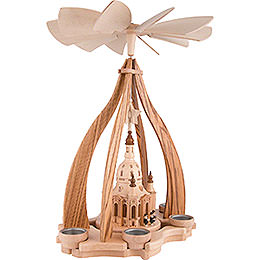 1-Tier Pyramid - Church of Our Lady Dresden - 47x34x34 cm / 18.5x13.3x13.3 inch