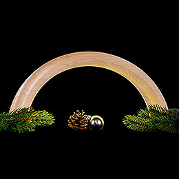 Design Wooden Arch Maple - 55x22,5 cm / 21.6x8.9 inch