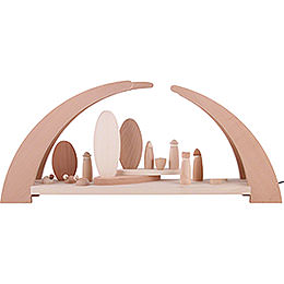 Candle Arch - Nativity - 62x25 cm / 24.5x10 inch