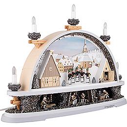Candle Arch - Mettenschicht - Limited by Klaus Kolbe - 57x40x12,5 cm / 22.5x15.5x5.0 inch