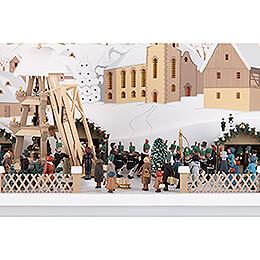Schwibbogen Weihnachtsmarkt am
