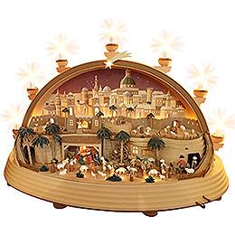 Schwibbogen Christi Geburt (limitierte Ausgabe) - 74x28x58 cm