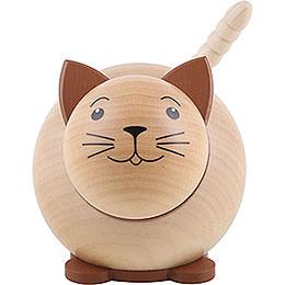 Kugelfigur Katze - 6 cm