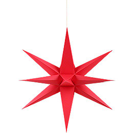 Annaberg Folded Star for Indoor Red - 35 cm / 13.8 inch