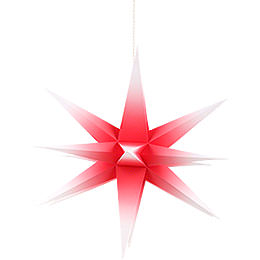 Annaberg Folded Star for Indoor Red-White - 58 cm / 22.8 inch