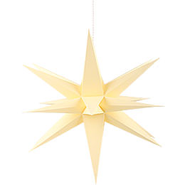 Annaberg Folded Star for Indoor Yellow - 70 cm / 27.6 inch