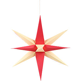 Annaberg Folded Star for Indoor with Red-Yellow Tips - 70 cm / 27.6 inch