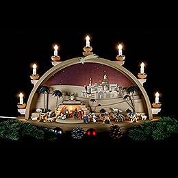 Schwibbogen Christi Geburt - 75x42x20 cm