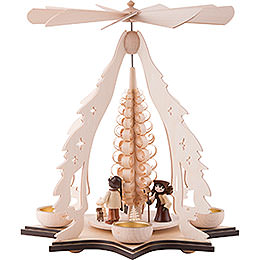 1-Tier Pyramid - Forest Children - 37 cm / 14.5 inch
