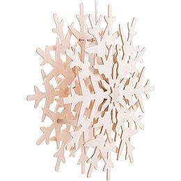 Fensterbild Schneekristall (1) - 29 cm