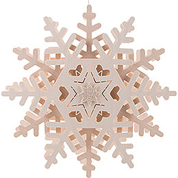 Window Pictures Snow Crystal (2) - 29 cm / 11.4 inch
