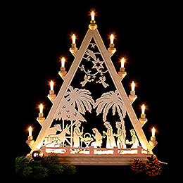 Light Triangle - Nativity - 66 cm / 26 inch