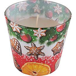 JEKA-Duftkerze - Christmas Flavours - Christmas Cookies - 8,1 cm