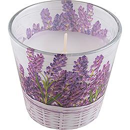 JEKA-Duftkerze - Lavender Basket - Fresh Lavender - 8,1 cm