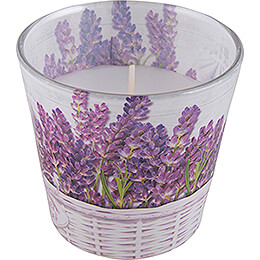 JEKA-Duftkerze - Lavender Basket - Floral Lavender - 8,1 cm