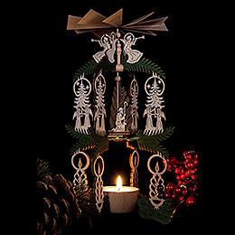 1-stöckige Pyramide Christi Geburt - 26 cm