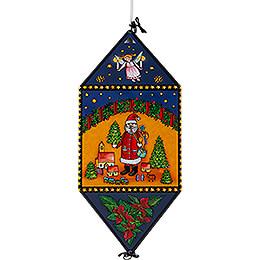 Weihnachtslaterne Engel & Bergmann #2 - 40 cm