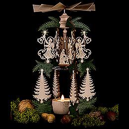 1-stöckige Pyramide Engel Christi Geburt - 26,5 cm