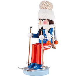 Nussknacker Skifahrer - 40 cm