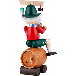 Smoker - Beerkeg-Rider with Music - 25 cm / 10 inch