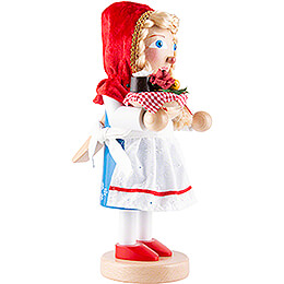 Nutcracker - Litte Red Riding Hood - 30 cm / 11,5 inch