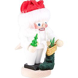 Nussknacker White Santa - 25 cm