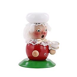 Smoker - Mrs. Santa - 25 cm / 10 inch