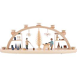 Schwibbogen Seiffener Handwerk - 60 cm