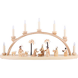 Candle Arch - Nativity - 60 cm / 24 inch