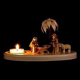 Kerzenhalter Krippe - 11 cm