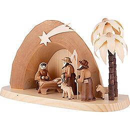 Weihnachtskrippe - Grotte - 15 cm