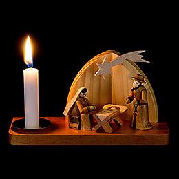 Weihnachtskrippe - Heilige Familie - 9 cm