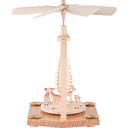 1-stöckige Pyramide Rehe - 23 cm